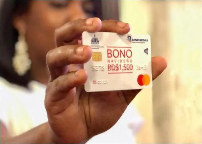 El Bono Navideño llega a 300 mil hogares dominicanos