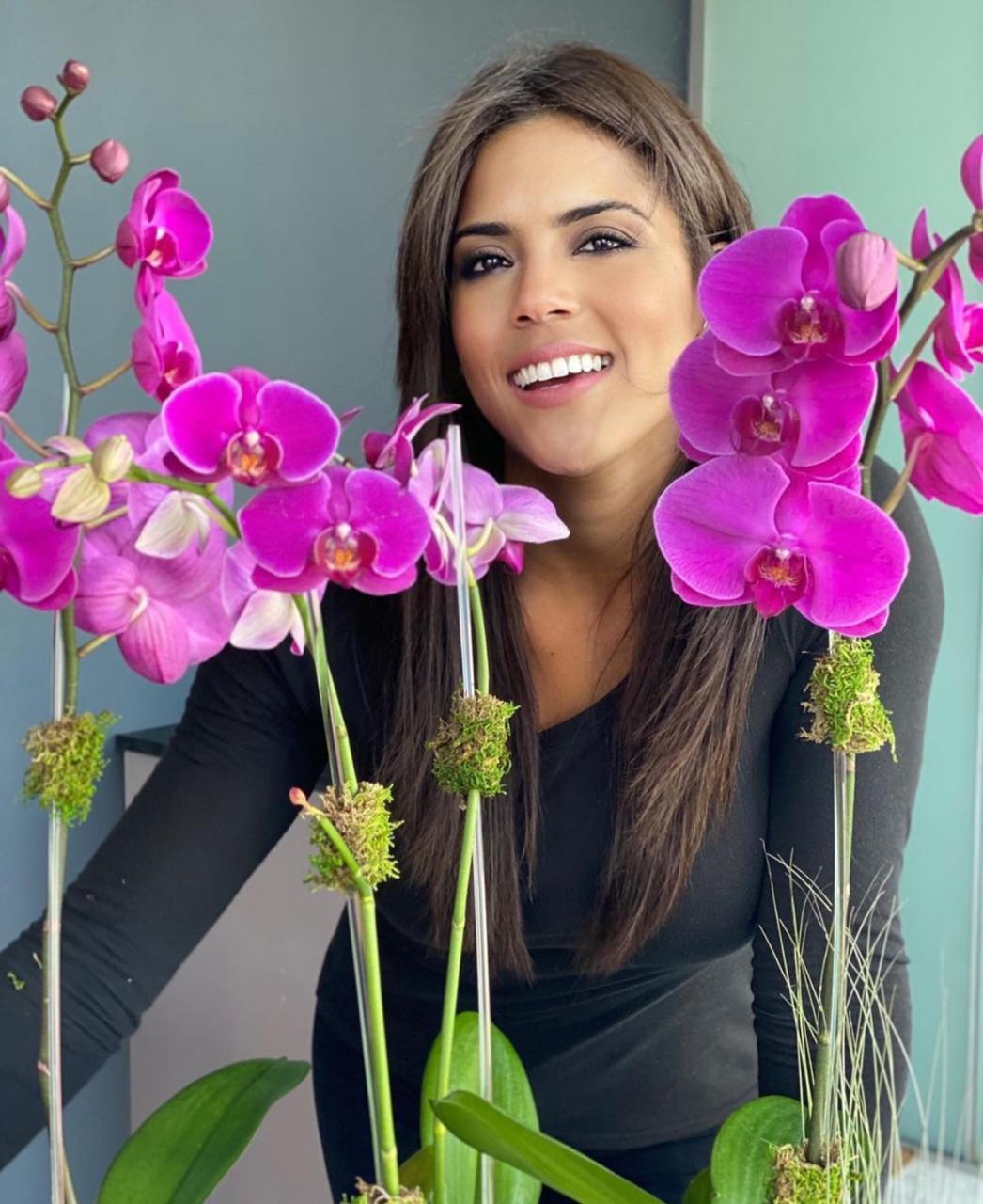 Video | Francisca Lachapel rebasa el COVID19
