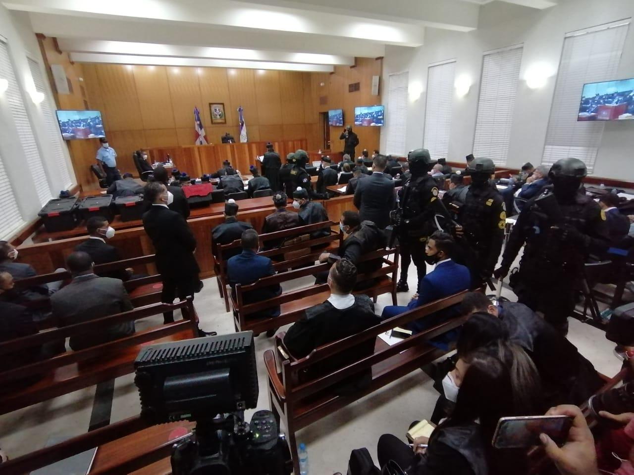 Juez de la instrucción fusiona expediente del imputado Wacal Vernavel Méndez  con el de los primeros 10 detenidos