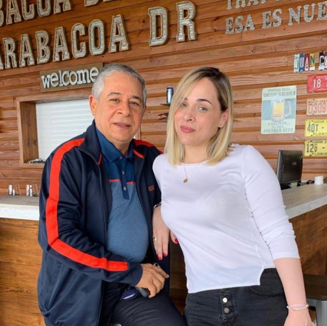Roberto Salcedo y su hija Rocio dan positivo al COVID19
