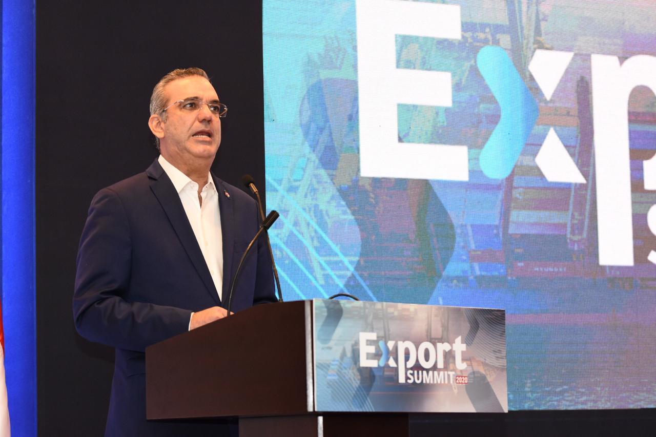 Abinader plantea aumento en exportaciones favorece recuperación económica del país