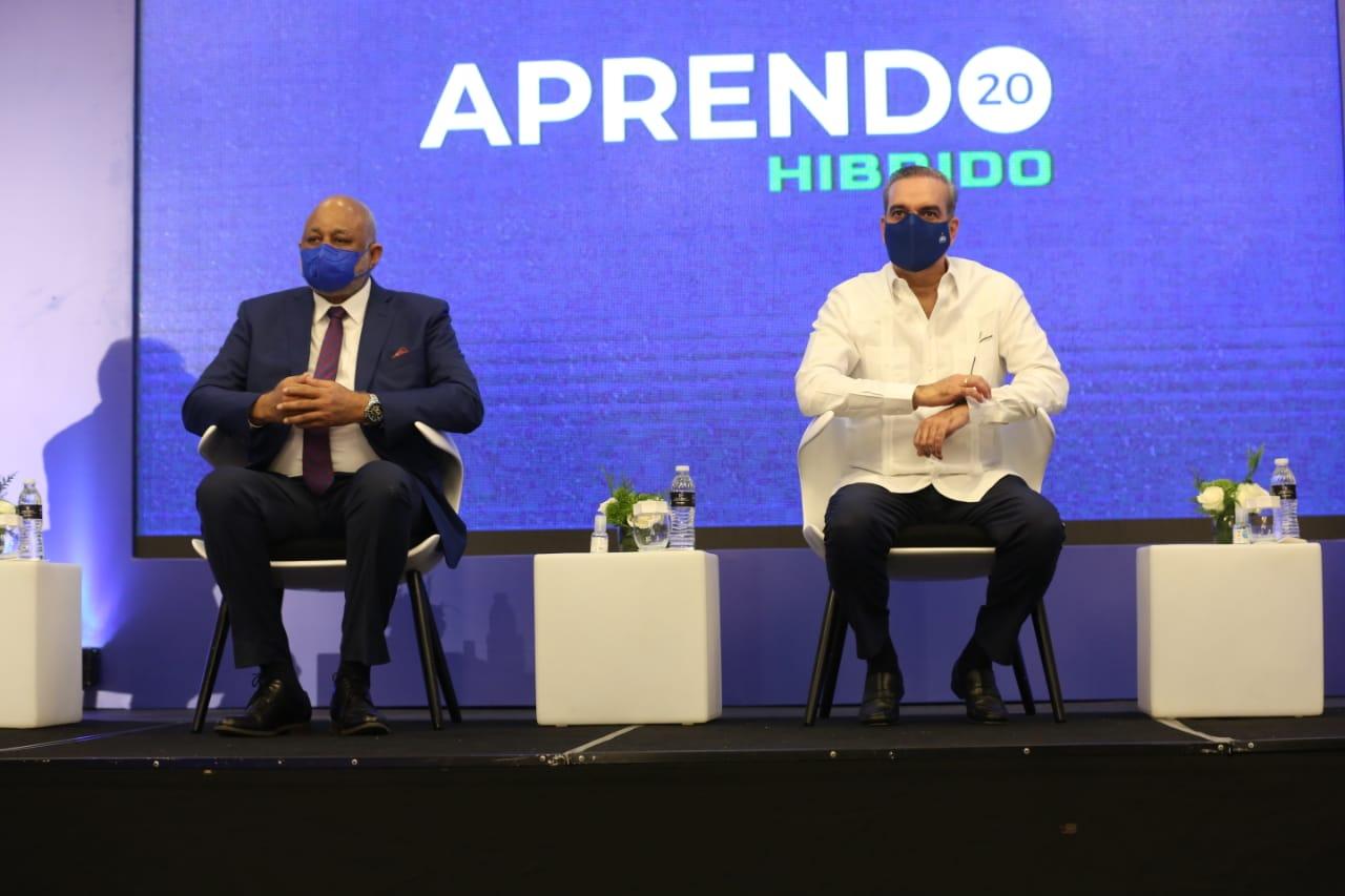 Abinader encabeza inauguración congreso de Educa, Aprendo 2020