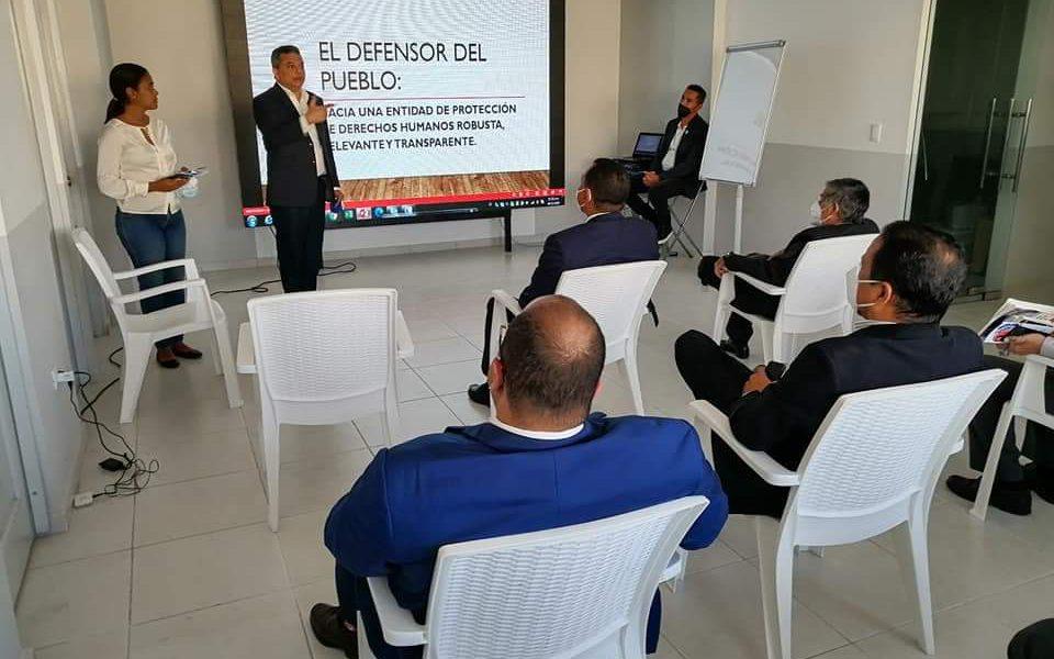 Fidel Santana propone plan estratégico para posicionar la Defensoría del Pueblo