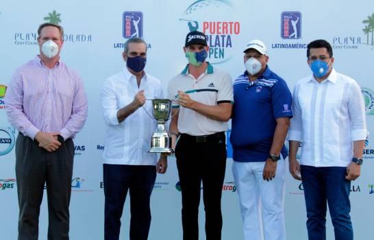Brandon Matthews, campeón del Puerto Plata Open PGA Tour Latinoamérica