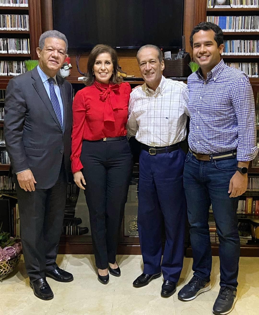 Reinaldo Pared agradece visita de Leonel Fernández y su hijo Omar