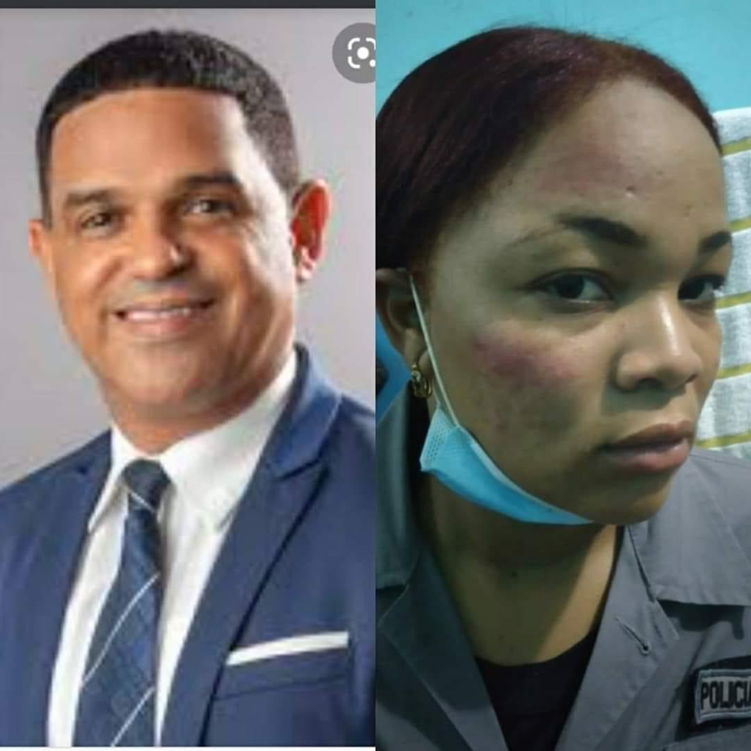 Diputado del PRM acusado de agredir a una agente policial durante toque de queda