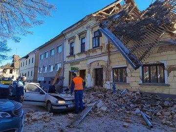 Fuerte sismo de magnitud 6,4 sacude a Croacia
