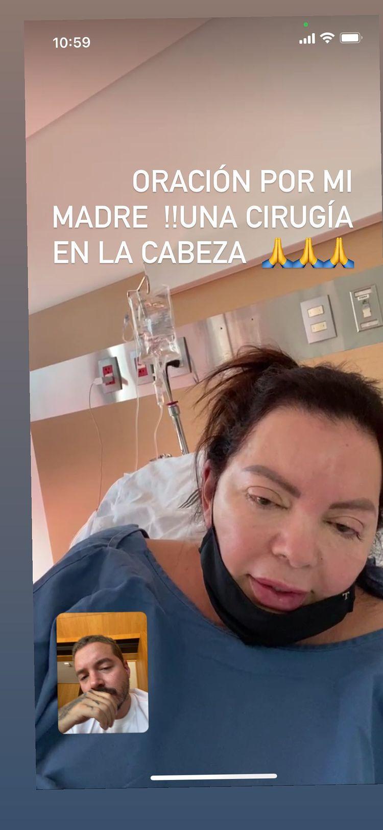 Madre de J Balvin es sometida a cirugía en la cabeza y  pide cadena de oración a sus fans