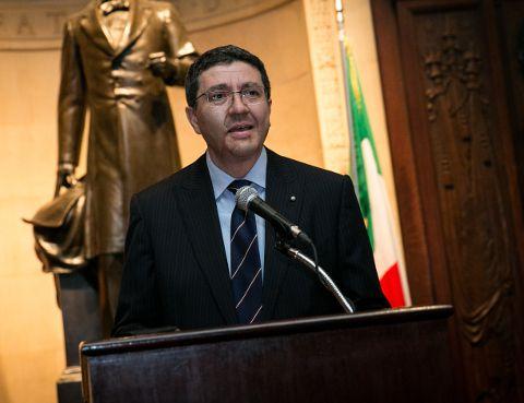 Embajada de Italia y Armada Dominicana conmemoran natalicio de Juan Bautista Cambiaso