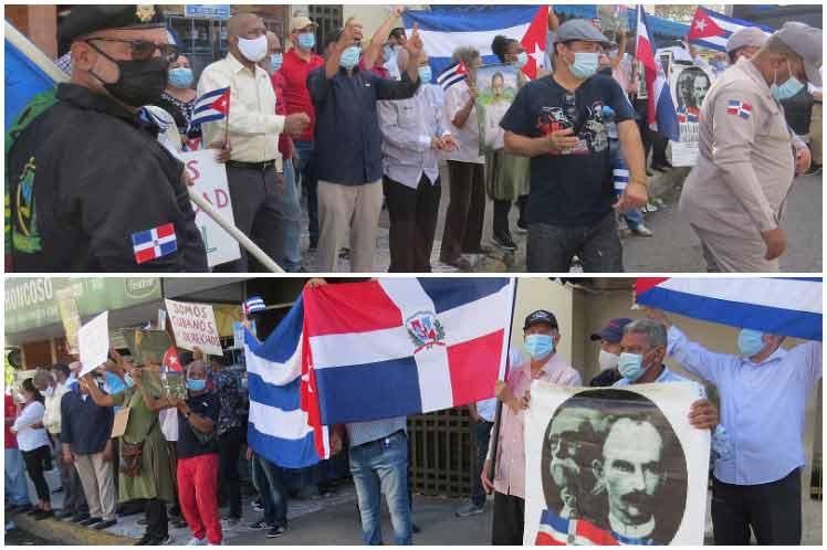 Cubanos y dominicanos repudian provocación contrarrevolucionaria