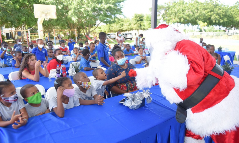 Fundación Altice celebra velada navideña con infantes del Hogar Nuestros Pequeños Hermanos