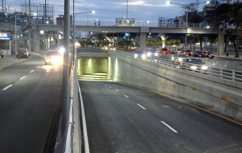 Cerrarán puentes, elevados y túneles del Gran Santo Domingo por mantenimiento