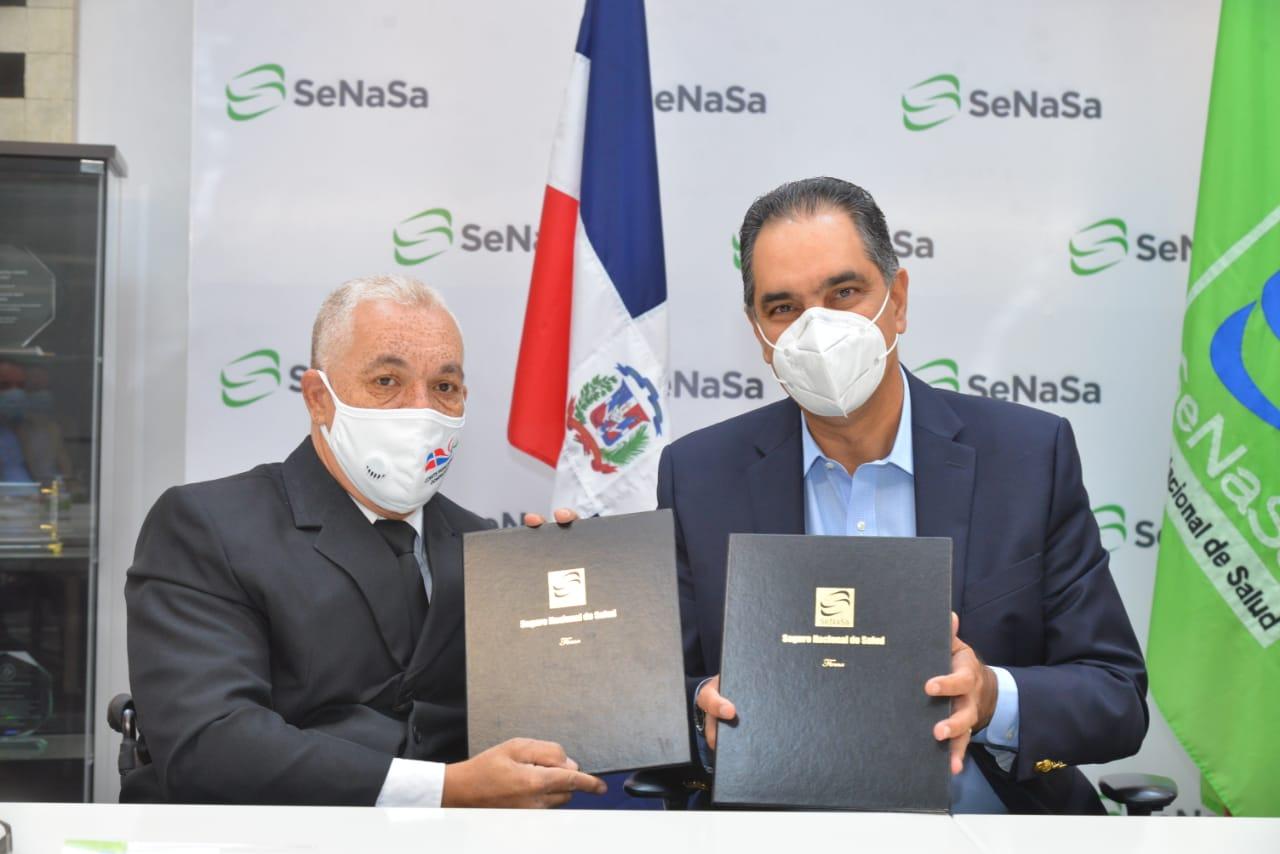 SeNaSa y COPADOM firman acuerdo para garantizar acceso a la salud de atletas y sus familiares