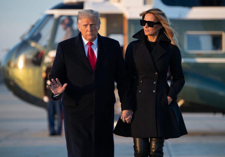 """Melania Trump finalmente habla sobre la toma del Capitolio y denuncia """"ataques"""""""