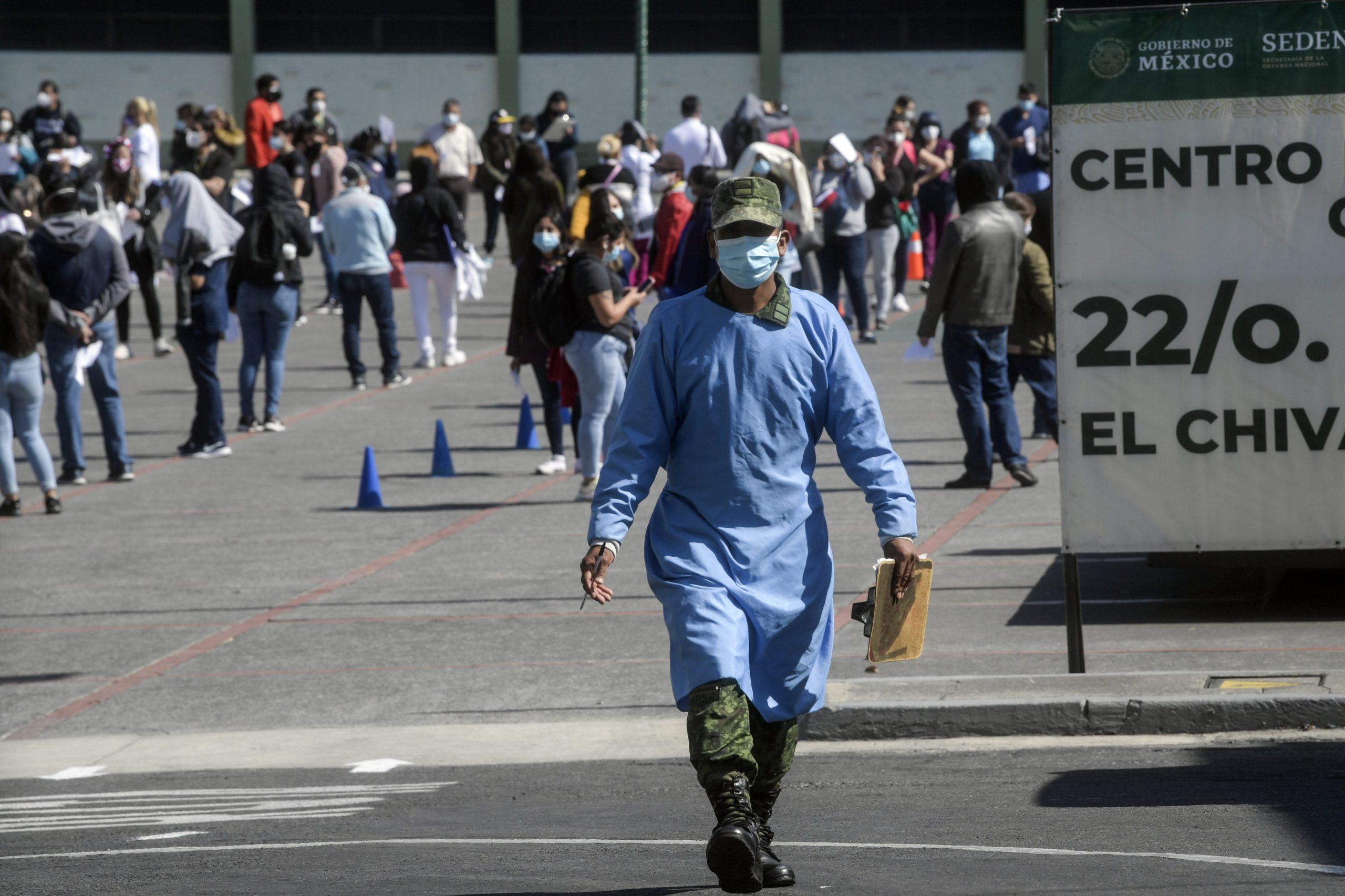 México cumple más del 20% de su primera fase de vacunación contra el covid-19
