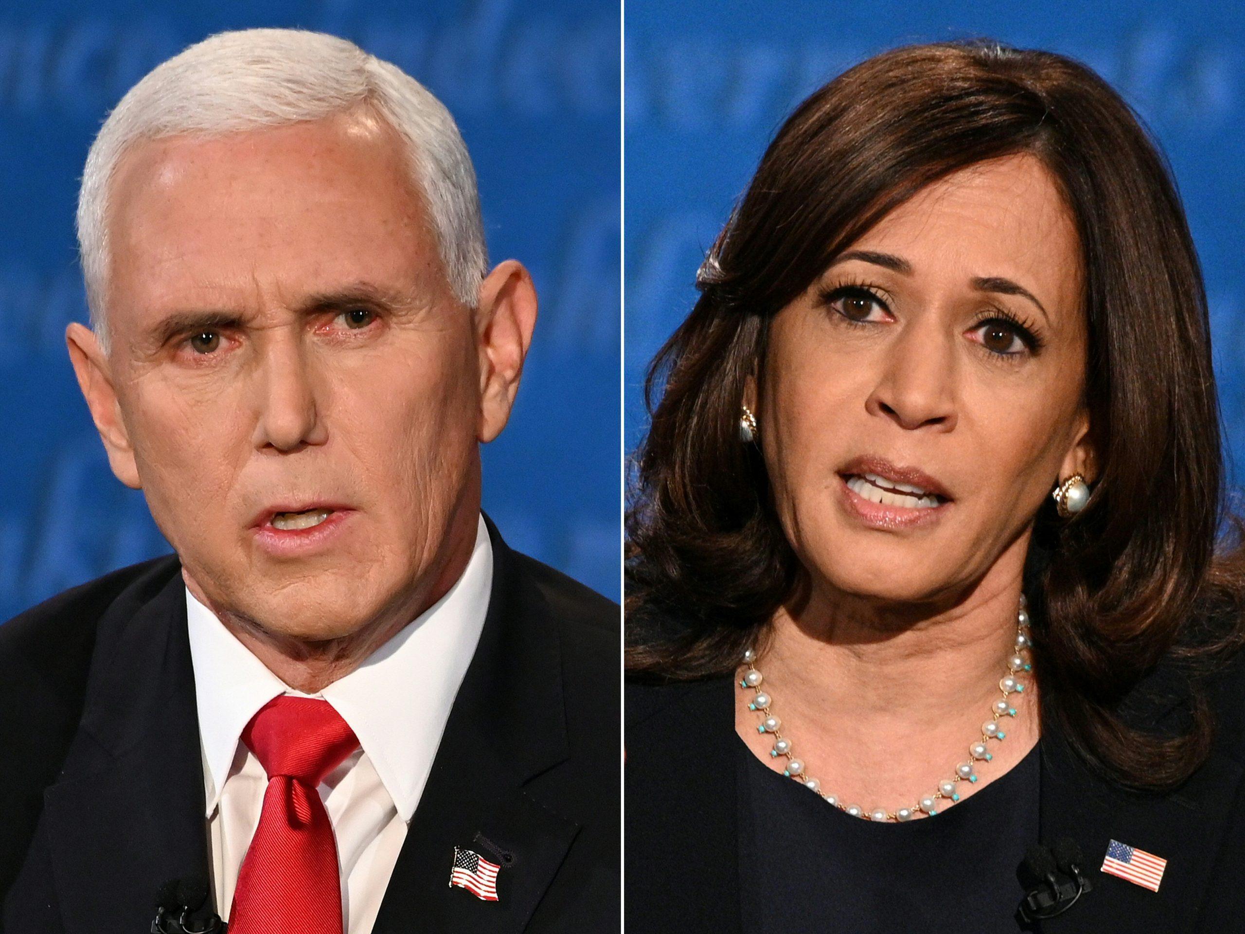 Mike Pence crea vínculo con Kamala Harris próximo a juramento de Biden