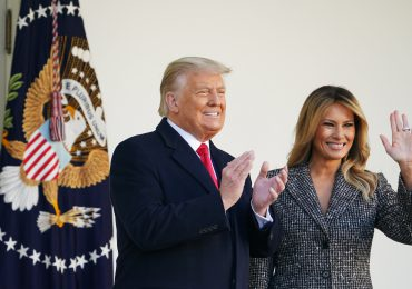 Trump pasa su último día en la Casa Blanca