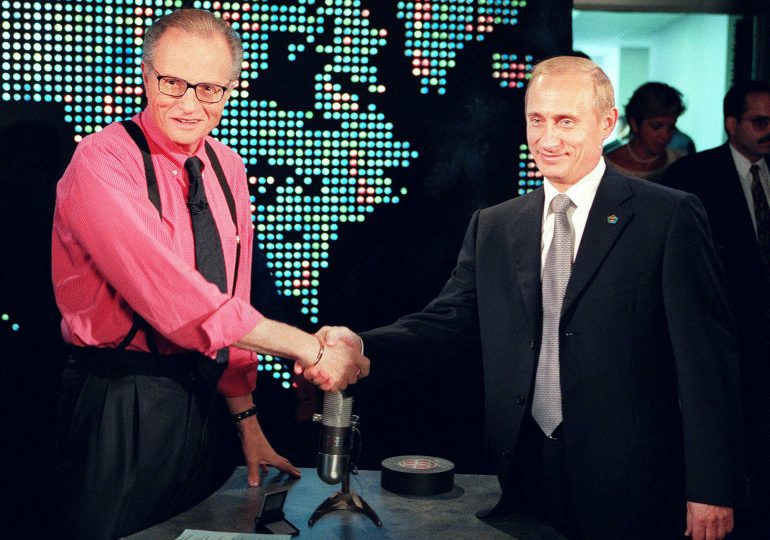 Putin saluda el profesionalismo de la Larry King