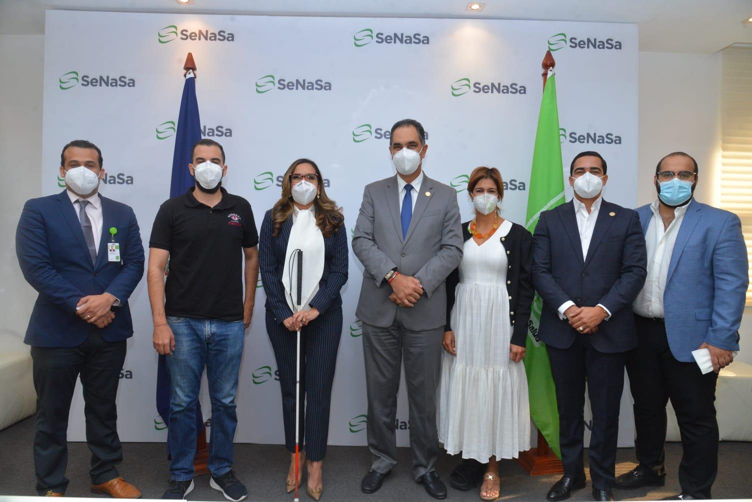 SeNaSa y Fundación Francina acuerdan garantizar acceso a la salud a invidentes y sus familiares