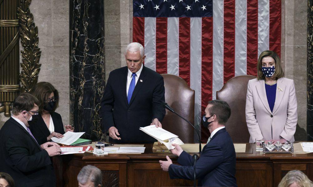 Congreso de EE.UU. certifica oficialmente la victoria electoral de Joe Biden