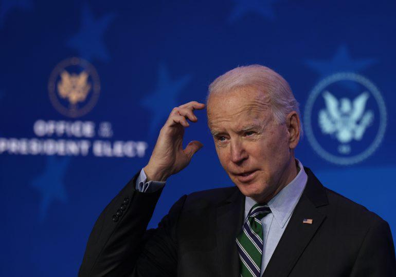 Biden promete firmar decretos sobre pandemia y economía luego de su investidura