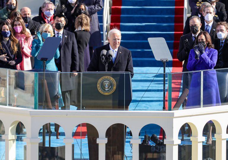Joe Biden jura como el 46º presidente de EEUU