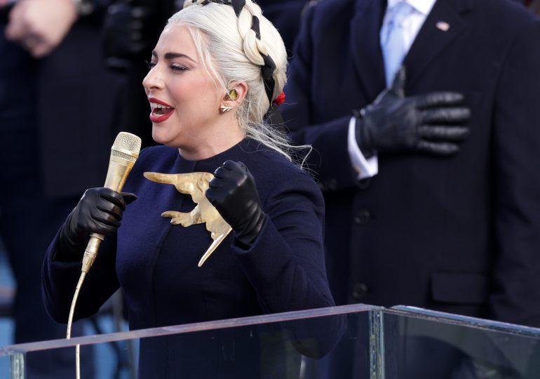 Presentación de Lady Gaga en la juramentación de Joe Biden como presidente de EEUU