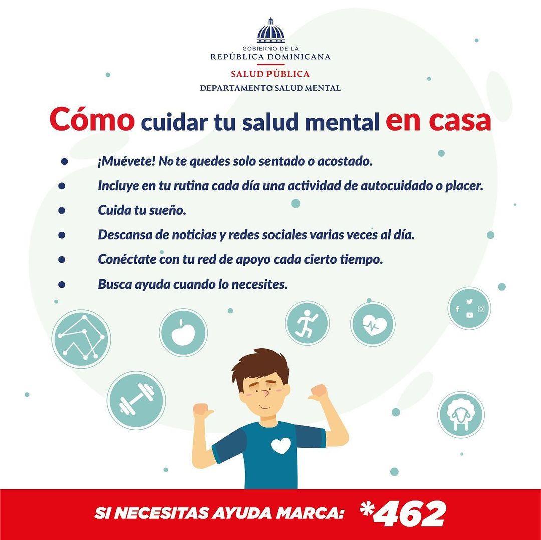 Consejos de Salud Pública para cuidar la salud mental en tiempos de pandemia