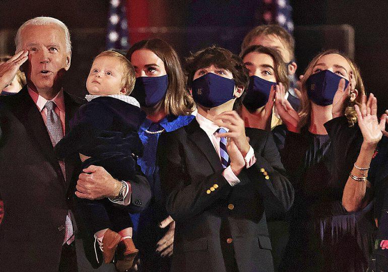 Conoce a los Biden, la nueva primera familia de Estados Unidos