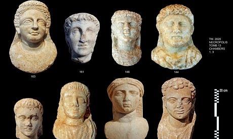 Equipo dominico-egipcia revela 16 catacumbas desenterrados en Taposiris Magna en Alejandría