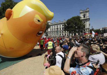 """Globo inflable del """"Bebé Trump"""" se convierte en colección para el Museo de Londres"""