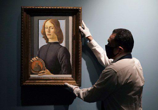 Obra de Botticelli será subastada en Nueva York por USD 80 millones