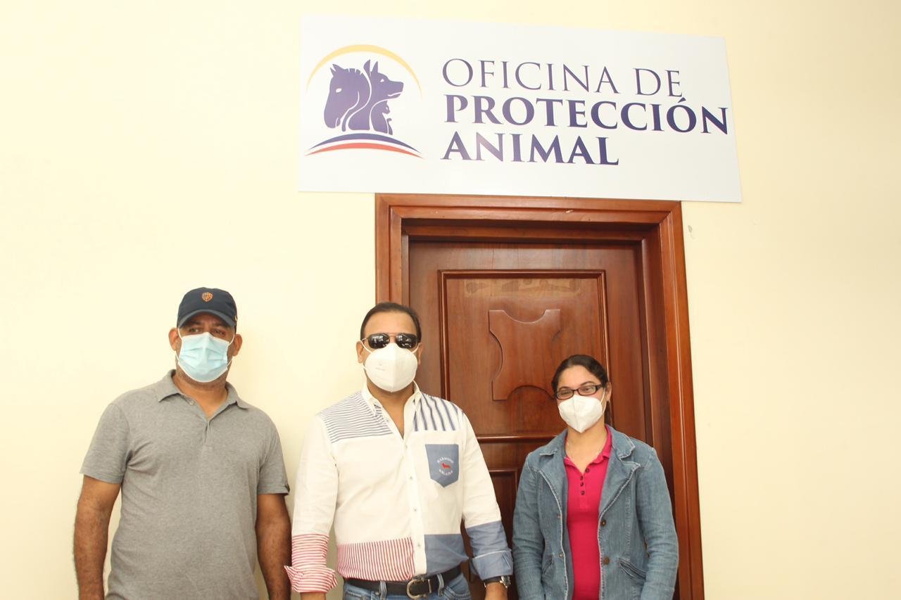 Alcaldía de Santiago pone en funcionamiento Oficina de Protección Animal