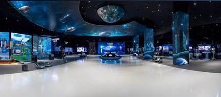 Huawei abre las puertas de la sala de exhibiciones tecnológicas Galileo