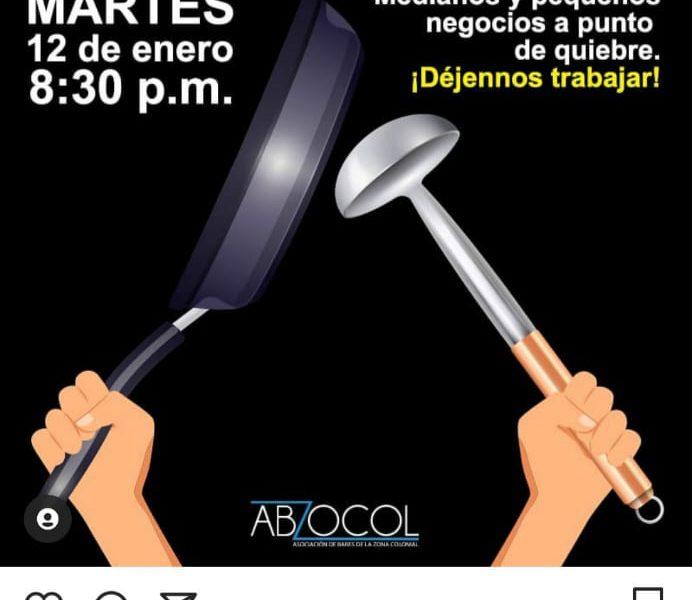 VIDEO | Convocan cacerolazos para el martes; Ciudadanos exigen al gobierno eliminar el toque de queda
