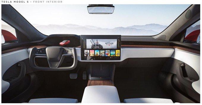 Elon Musk presenta el interior del Tesla Model S, más actualizado