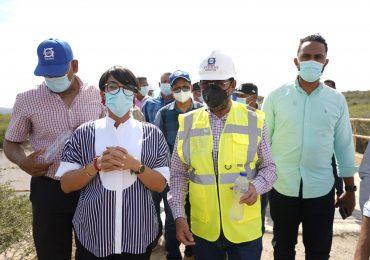INDRHI inspecciona obras para optimizar el riego en Monte cristi