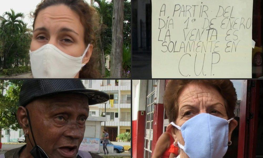 VIDEO | Cubanos empiezan 2021 con la cruda realidad del alza de precios