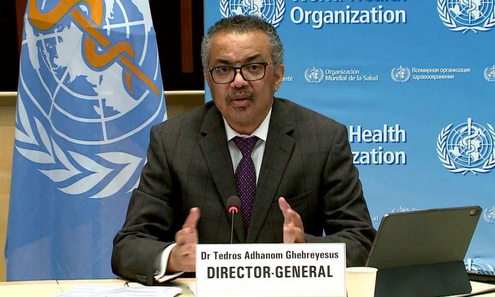 VIDEO   OMS insta a los países a cesar acuerdos bilaterales con laboratorios para vacuna anti-covid