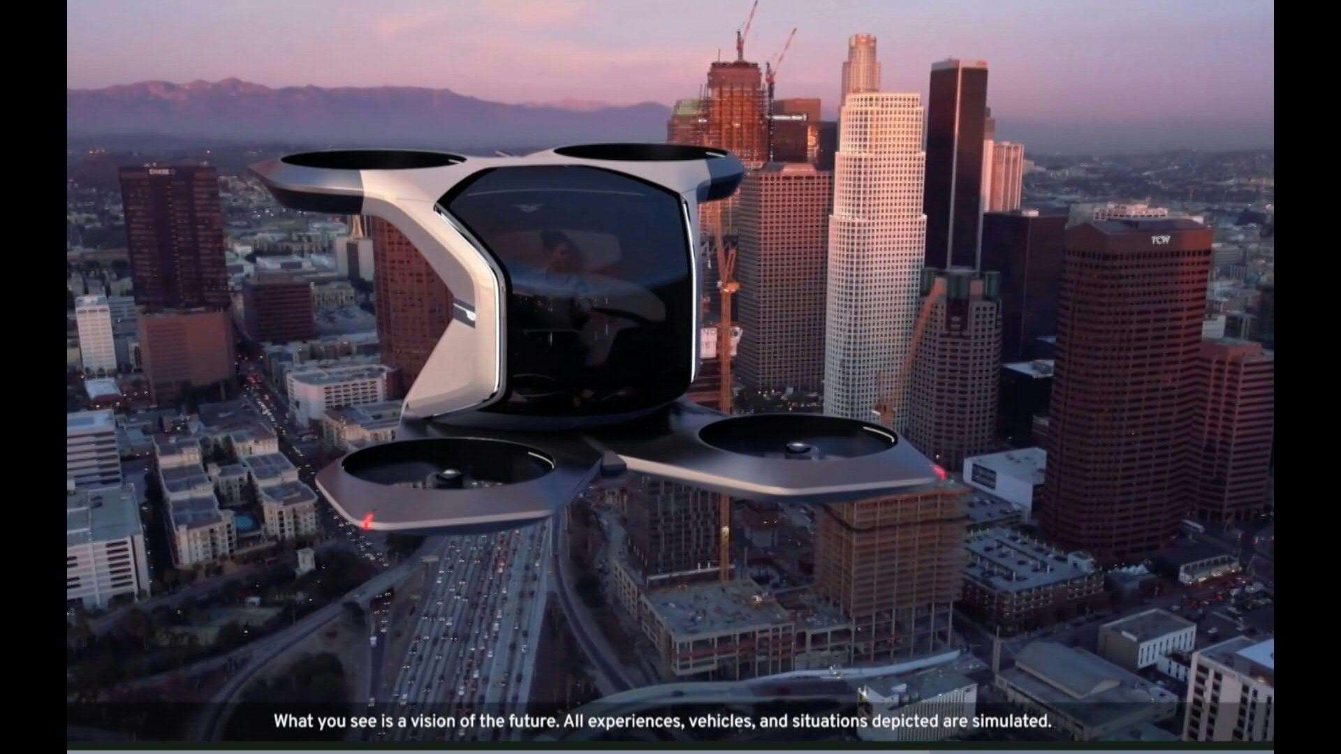 VIDEO | General Motors busca llegar al cielo con un diseño de auto volador