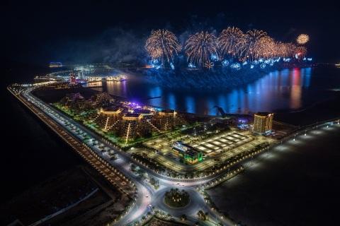 Ras Al Khaimah inicia 2021 con una de las exhibiciones de fuegos artificiales más grandes del mundo