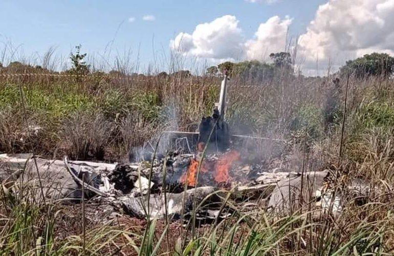 Seis muertos, entre ellos cuatro futbolistas, al caer una avioneta en Brasil