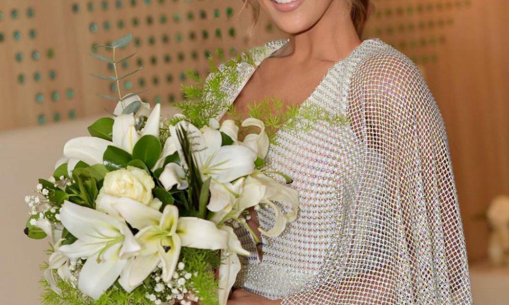 Caroline Aquino se casa hoy con el padre de su hijo