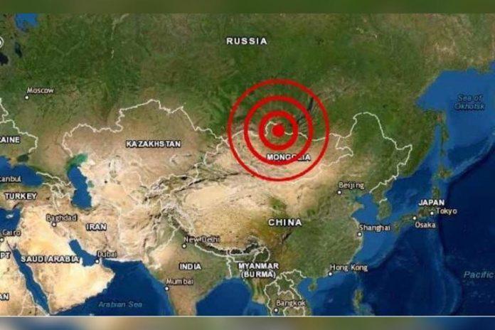 Fuerte terremoto en Mongolia cerca de Rusia, reportó instituto sismologico de EEUU