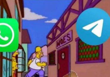 Telegram se une a los memes por las nuevas políticas obligatorias de WhatsApp