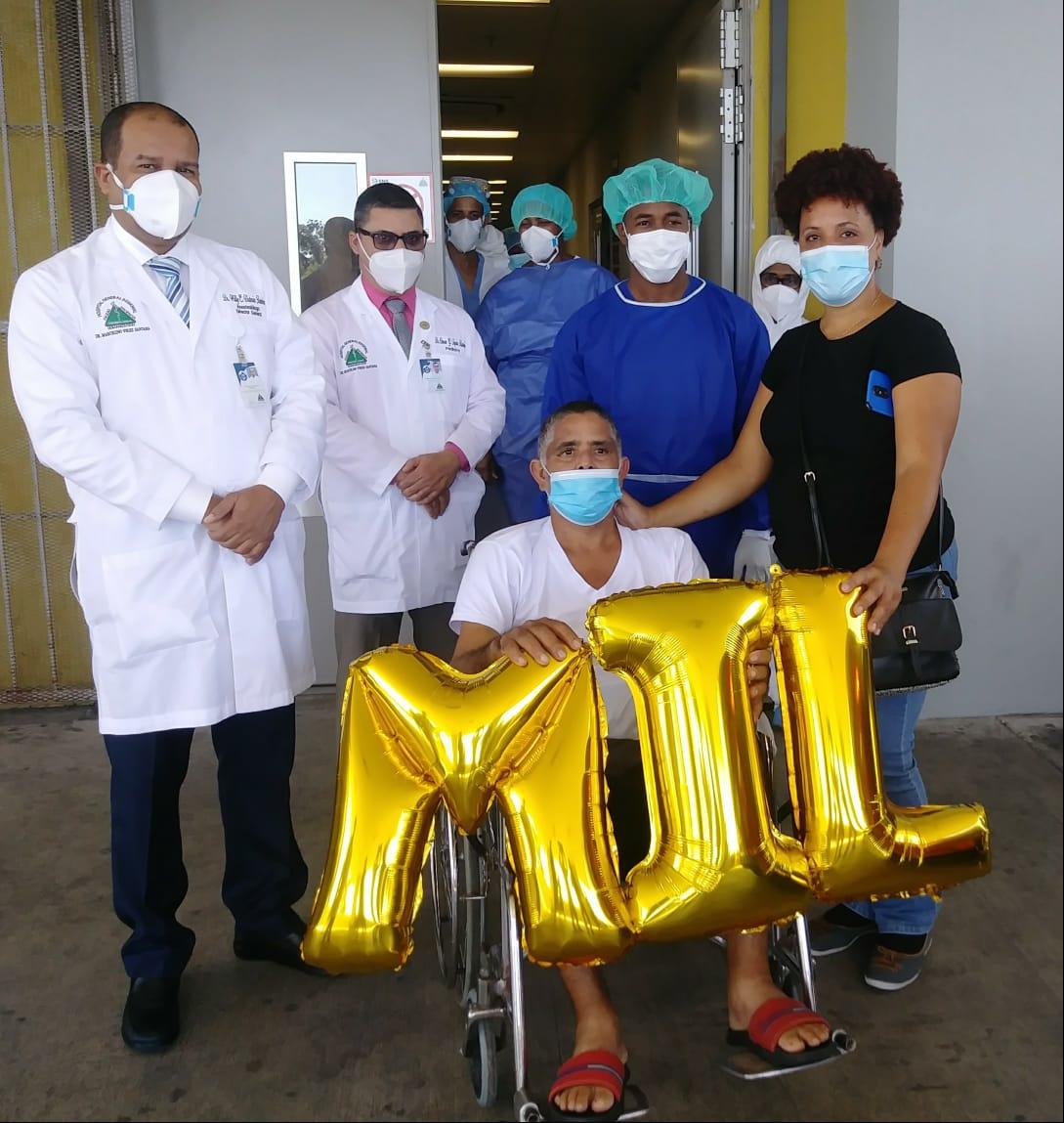 Video | Hospital Marcelino Vélez con mil pacientes recuperados de covid-19