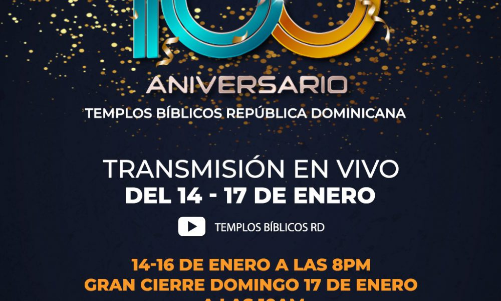 Los Templos Bíblicos celebran su 100° aniversario