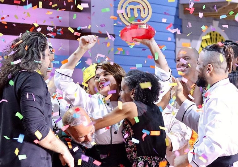Noemí Guzmán gana tercera temporada de  MasterChef RD