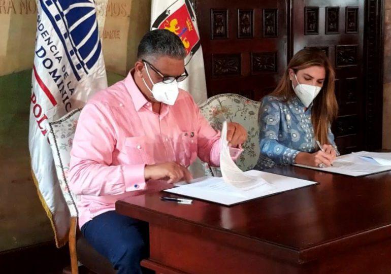 VIDEO | ADN e Interior y Policía  firman acuerdo para fortalecer la seguridad ciudadana