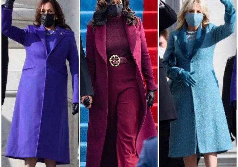 FOTOS | Los mejores looks femeninos en la juramentación de Biden